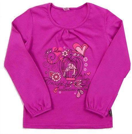 Блузка для девочки Цветы