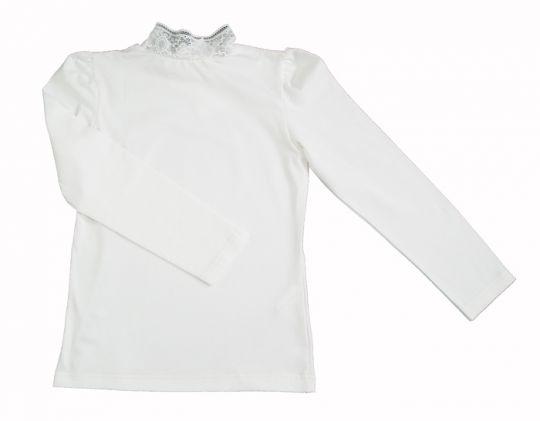 Белая кофточка для девочки