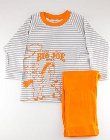 Пижама Большой Джо оранжевая