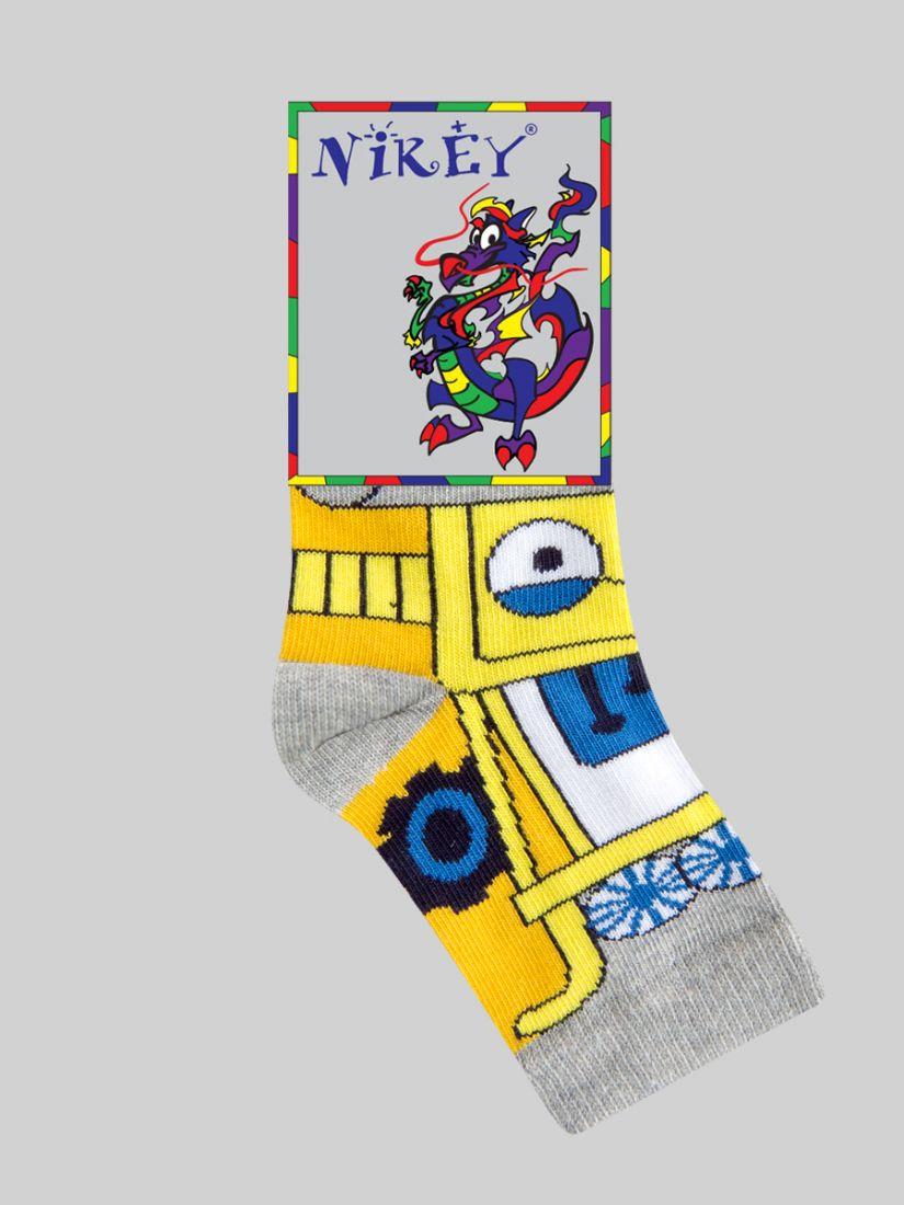Желтые носки для мальчика 7-9 лет