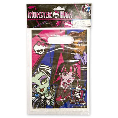 Пакеты для сувениров Monster High