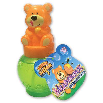 Мыльные пузыри фигурные Медвежонок