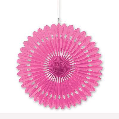 Фант бумажный розовый, 40 см