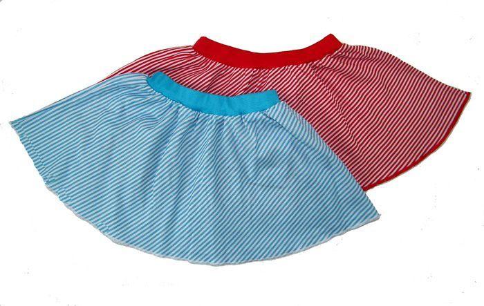 Юбка для девочки Морячка (Размер: 86-92)