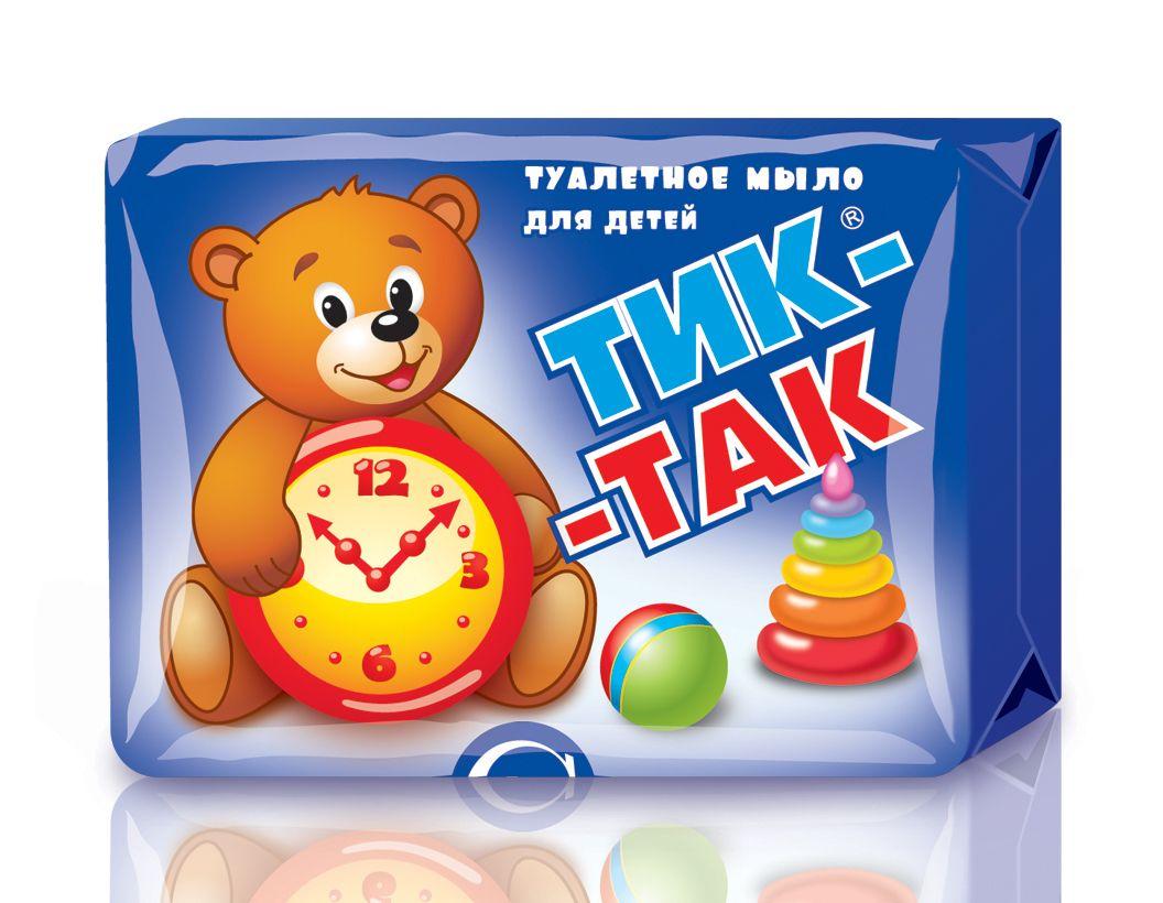 """Мыло детское """"Тик-так"""" с экстрактом зверобоя, 150гр."""