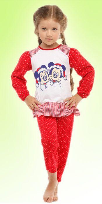 Пижама для девочки (Размер: 122-128)
