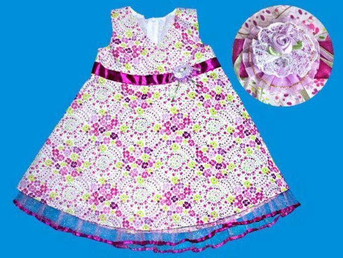 Нарядное платье для девочки (Размер: 74)