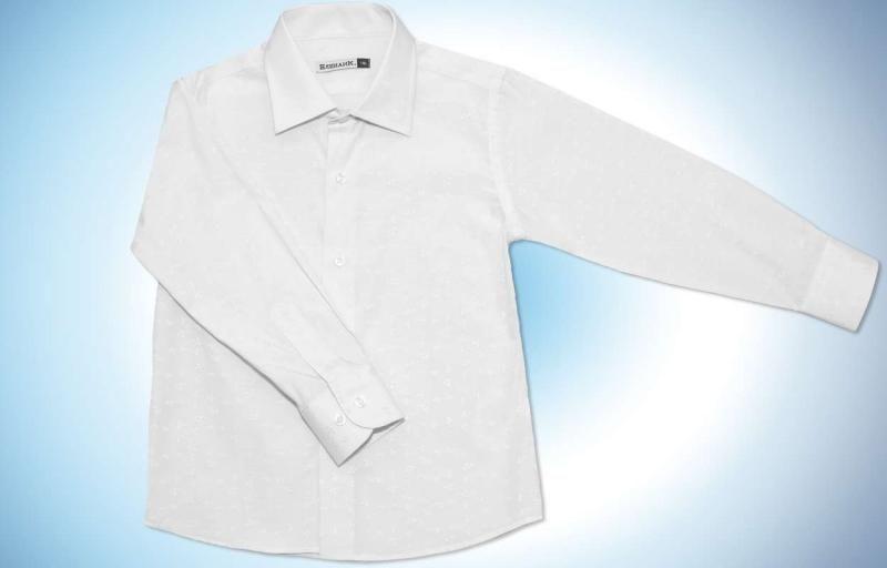 Рубашка белого цвета Снежинки