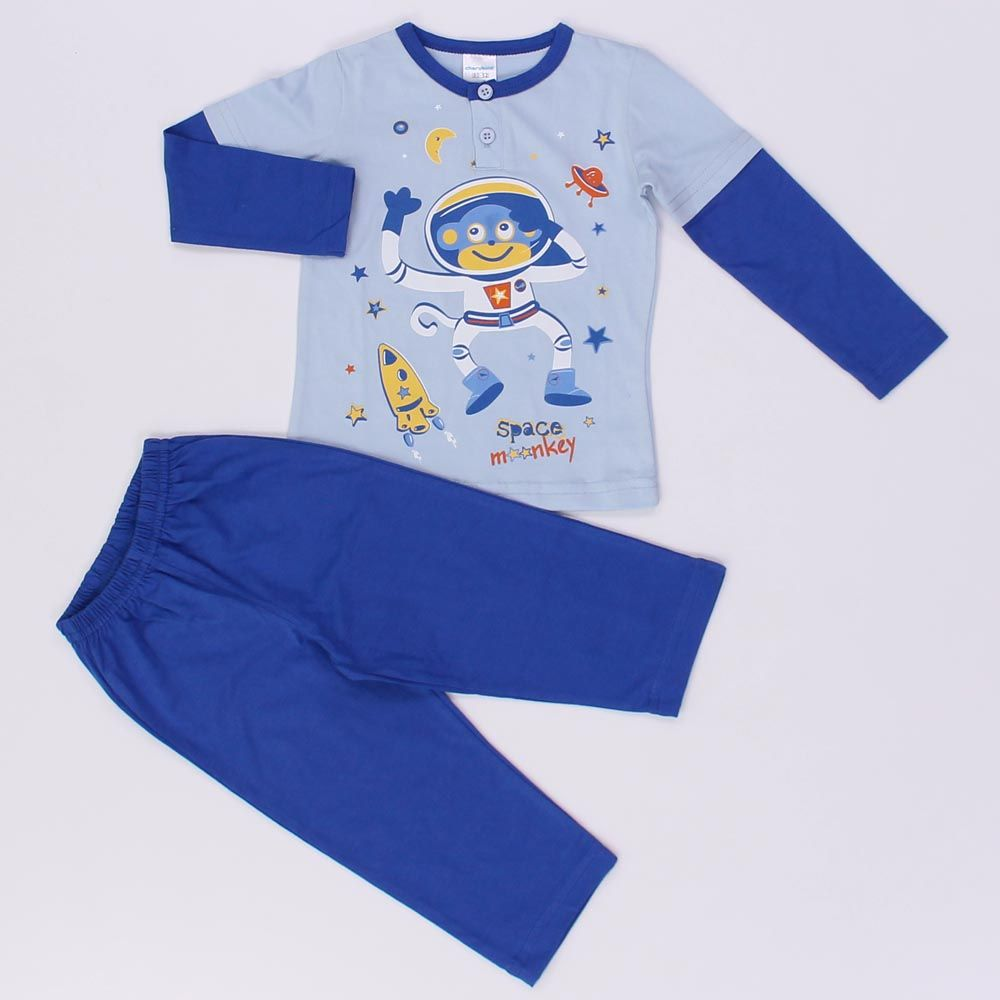 Пижама Обезьянка космонавт (Размер: 98)