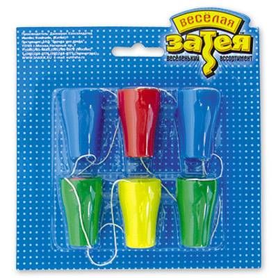 Игра Надувной шарик со стаканчиком 6шт