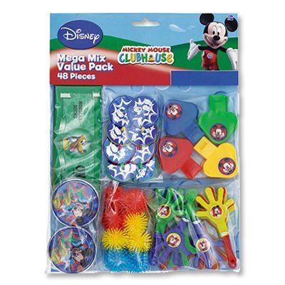 Игрушки д/подарков Dis Микки Маус 48шт