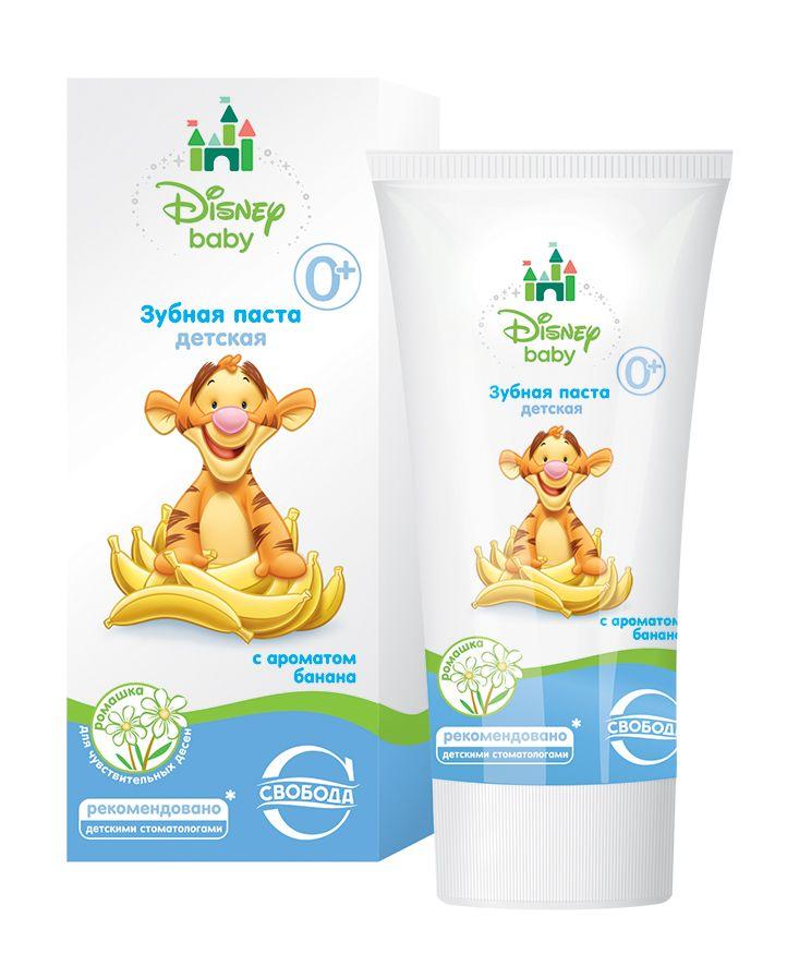 Зубная паста Disney Baby с ароматом банана