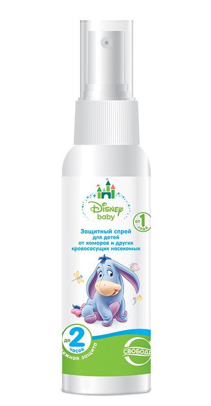 Крем от комаров и других насекомых Disney Baby