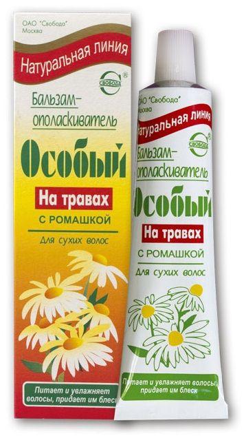 """Шампунь с ромашкой для сухих волос """"Особый на травах"""", 76мл"""