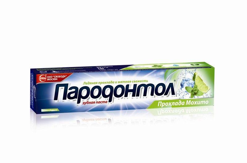 Зубная паста Пародонтол ПРОХЛАДА МОХИТО