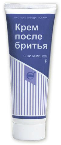 Крем после бритья с витамином F, 80мл