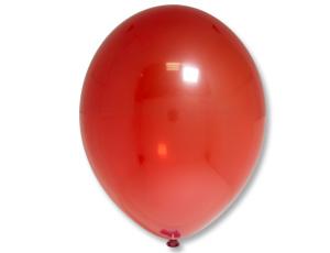 Надувной шарик В 85/131 Кристалл Экстра Red 5 шт.