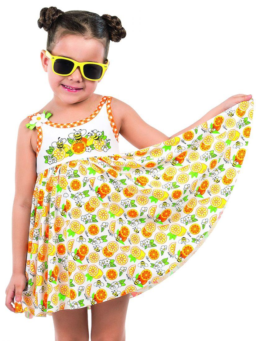Купальное платье и плавки для девочки 4-5 лет