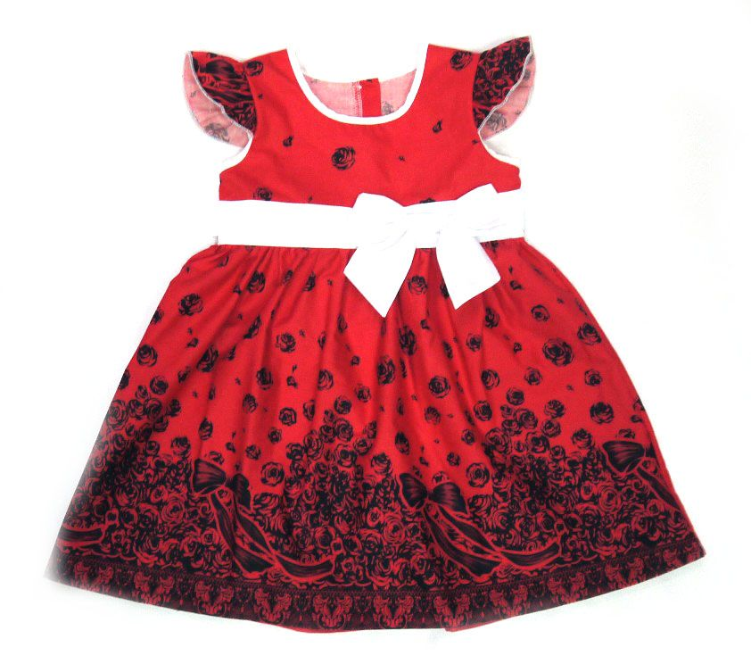 Платье для девочки Кайма