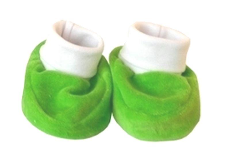 Зеленые пинетки для малыша