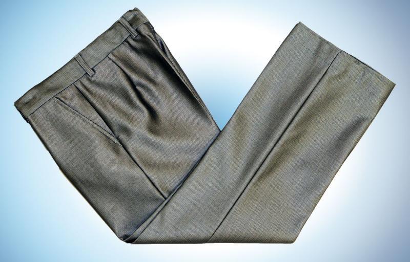 Серые классические брюки доставка