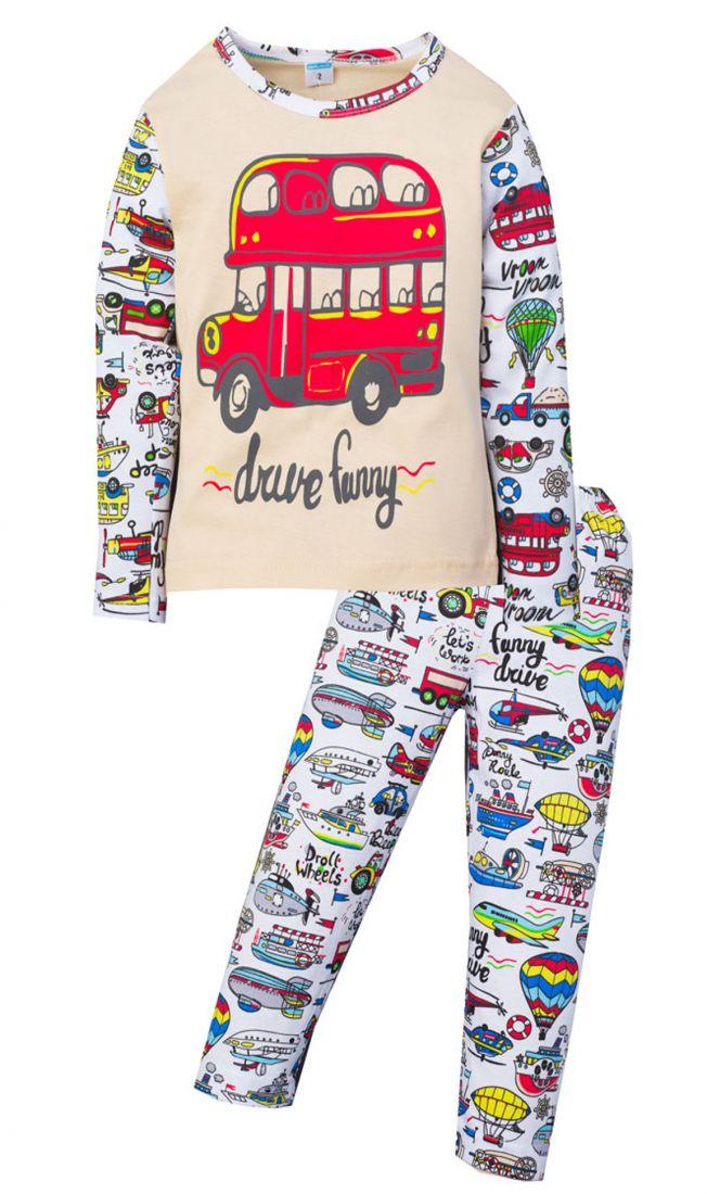 Пижама для мальчика Funny bus