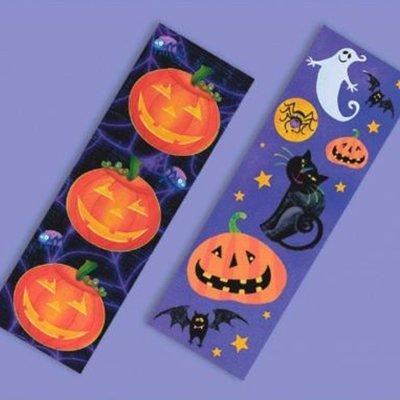 Наклейки Забавный Хэллоуин, 8 листов, 1 шт.