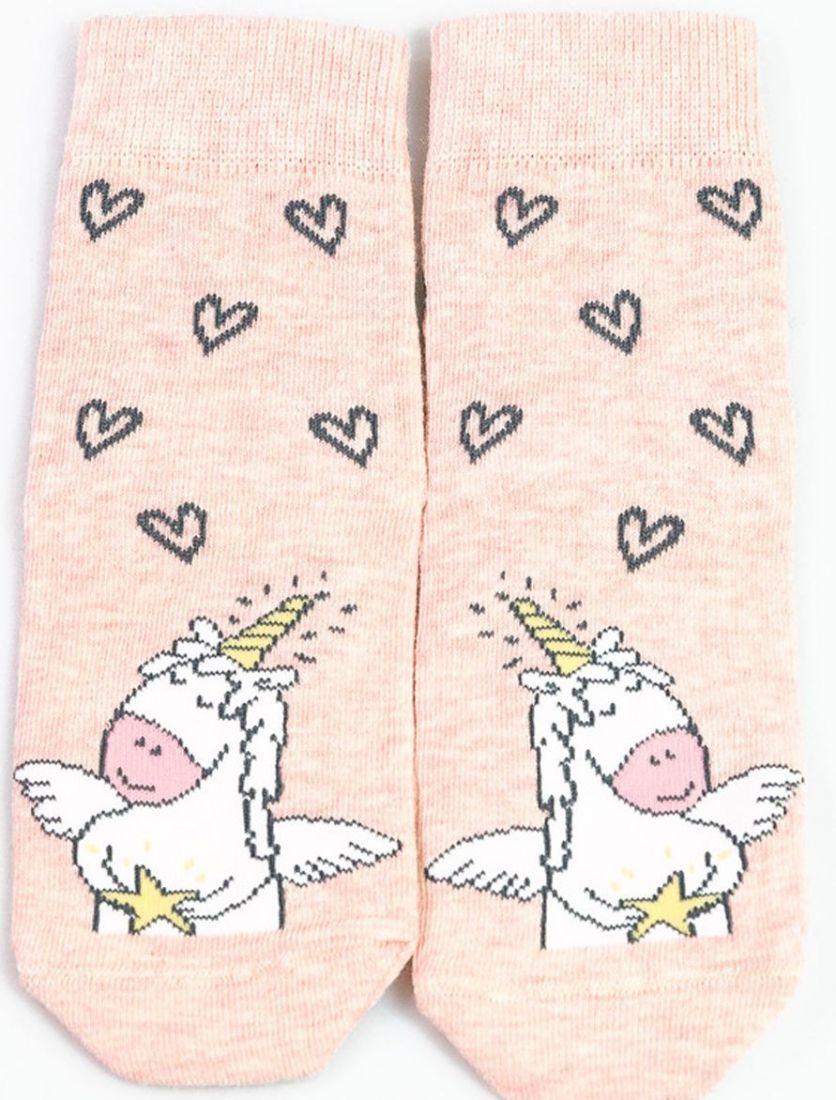 Носки для девочки Единорог