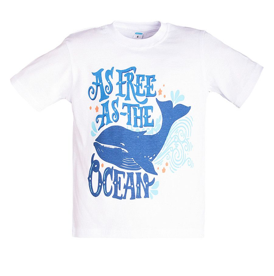 Футболки для мальчиков Ocean fish